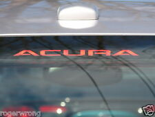 Acura TL 3rd brake light decal overlay 2004 2005 2006 2007 2008