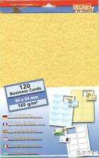 DECADRY scr-2029 CARDS 165gr PERGAMENA BUSINESS CARDS. apportare le proprie carte