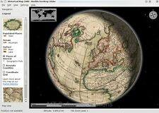 3D MARBLE GLOBE EARTH MOON VENUS MARS VIRTUAL ATLAS MAP SOFTWARE PC MAC PLATFORM