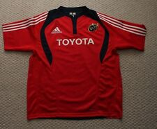 Adidas Munster Rugby Jersey Mens 2XL -  Red