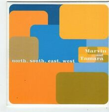 (FI722) Marvin & Tamara, North South East West - 1999 DJ CD