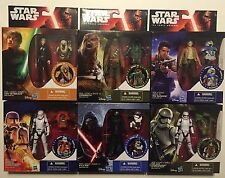 Star Wars The Force Awakens Armor Up Most Popular 6 Kylo Ren, Boba Fett D98 NIB