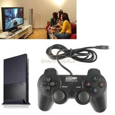 USB 2.0 Dual Shock Wired Gamepad Game Controller Joystick FOR PC Computer Gift