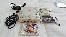 Sega Dreamcast White Console Complete (NTSC) AND Street Fighter Alpha 3 game
