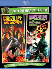 Godzilla Vs. Mothra/Godzilla Vs. King Ghidora (Blu-ray Disc, 2014) Brand New