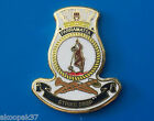 HMAS PARRAMATTA (IV) FFH 154 SHIPS BADGE LAPEL BADGE ENAMEL & GOLD PLATED 20MM