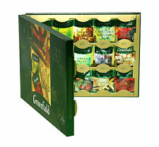 Greenfield Tea Herb Tissane Gift Set Premium collection 30 varieties 120 count