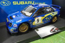 SUBARU IMPREZA WRC #5 RALLYE PORTUGAL 2001 Bleu Burns Reid 1/18 AUTOart 80191
