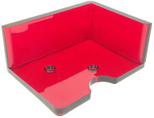DISCARD TRAY - NEW 2 DECK CASINO BLACKJACK DEALER'S RED OPEN TOP - FREE S/H *