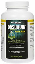 Dasuquin w/MSM Chewable Tablets for Small to Medium Dogs, 150 Tablets