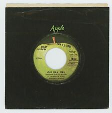 Mary Hopkin 1970 Apple 45rpm Que Sera, Sera b/w Fields Of St. Etienne McCartney
