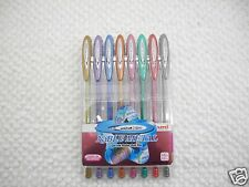 8 Colors Uni-Ball Signo Noble Metal 0.8mm Roller gel pen with case(Japan)