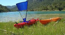 vela de kayak. kayak sail 1m.