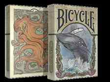 Sea Creatures Deck Bicycle Playing Cards Poker Size USPCC Custom Limited Sealed