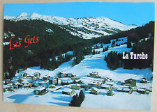 La Turche in Les Gets ski resort postcard