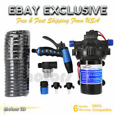 70 PSI Washdown Deck Wash Pump Kit 12V 5.5 GPM Boat Marine bb Caravan