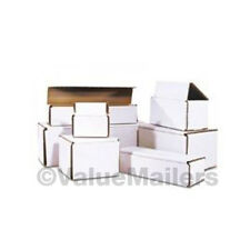 100 -  5x3x3 White Corrugated Shipping Mailer Packing Box Boxes Mailers