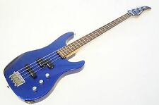 FERNANDES SMB-50 Metallic Blue Bass AS-IS Worldwide Shipment