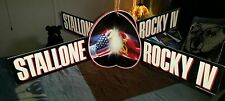 "1985 ""ROCKY IV"" Sylvester Stallone Orig. MOVIE THEATER PROMO MOBILE MIB-Scarce!!"