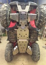 Yamaha Grizzly 700 underbody armor skid plates and c/v boot guards full set 14+