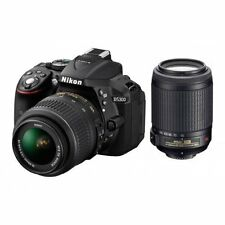 Nikon D5300 DX-Format Digital SLR kit 18-55mm lens with AF-S 18-140mm VR (Black)