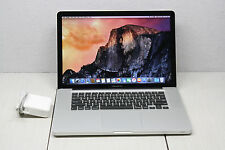 "Apple MacBook Pro Quad Core i7 8GB 750GB 15.4"" Dual Graphics Processor Card"