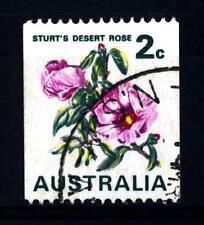 AUSTRALIA - 1971 - Francobolli del 1966-1970 (Gossypium sturtianum)