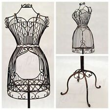 Female Metal Wire Form with Antique Metal Base #TY-XY140076