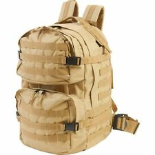 Heavy-Duty Outdoor Tactical Backpack, Mens Desert Sand Hiking Day Pack Camp Bag