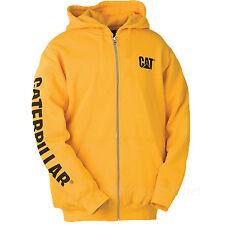 Caterpillar Sweatshirt Mens CAT Zipper Hooded Fleece Zip Jacket W10840 Sweater