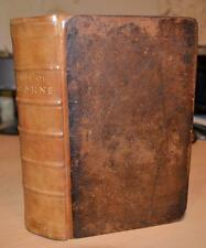 1738. 'Life & Reign Of Queen Anne'  Folding Maps & Plates. FINE BINDING.