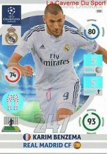 333 BENZEMA REAL MADRID GAME CHANGER CARD CHAMPIONS LEAGUE ADRENALYN 2015 PANINI