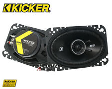 "Kicker DS Series DSC460 4X6"" 4-Ohm 30 Watt Rms Coaxial Speaker Direct Fit"