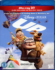 UP - BLU-RAY 3D - WALT DISNEY PIXAR FILM - ANIMATED STORY CHILDREN FAMILY MOVIE