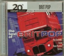 THE BEST OF BRIT POP - 20th Century Masters - The Millennium Collection CD -NEW