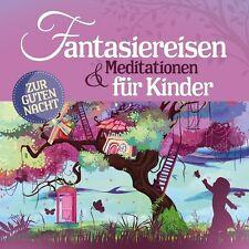 FANTASIEREISEN & MEDITATIONEN FÜR KINDER (HÖRBUCH) ZUR GUTEN NACHT  2 CD NEU