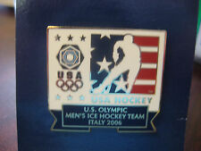 2006 Torino Olympic Team USA Men's Ice Hockey Pin