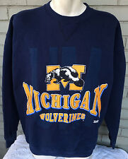 VTG Michigan Wolverines NCAA College Sweatshirt Size XL