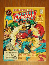 DC BLUE RIBBON DIGEST BEST OF #31 JUSTICE LEAGUE OF AMERICA BRITISH POCKET BOOK