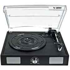 Turntable Portable USB Audio Record Player Music Vinyl MP3 Built-In Speakers !