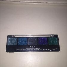 NYX OCEAN BREEZE GLITTER CREAM EYESHADOW PALETTE  New in Case GCP11
