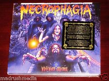 Necrophagia: Whiteworm Cathedral CD 2014 White Worm Season SOM 284D Digipak NEW