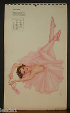 Alberto Vargas Calendar Page December 1942 May New Year Find You On Your Feet