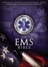 HCSB Emergency Medical Services Bible, Blue LeatherTouch, , Good Book