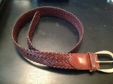 Pre-Owned Weave Coach Small Ladies Leather Belt
