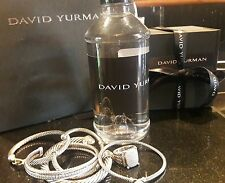 David Yurman Bottled Water Plastic Bottle Not Evian Collectible Item SEALED NEW