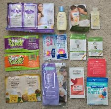 BIG SAMPLE TRAVEL SIZE LOT: NEW Lansinoh Balmex Belli Babo Baby Mommy Infant