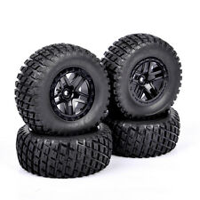 4PC 12mm Hex 1/10 Scale RC Short Course Truck Off-road Argyle Tire & Wheel 29001