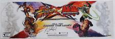 "NEW 2014 Anime Expo SIGNED Kyle Herbert  Street Fighter  ""RYU"" Poster 10"" x 30"""