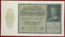 GERMANY 10 000 MARK WEIMAR REPUBLIC REICHSBANKNOTE 19.1.1922. P72